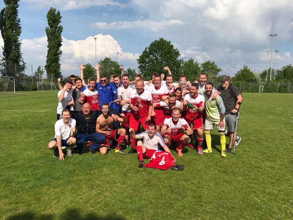 TSV Fussball Reserve Aufstieg2019 Test