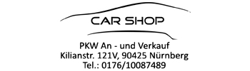 Slider Fuball CarShop